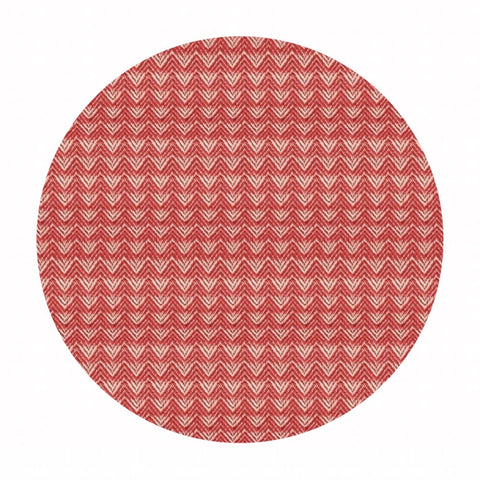 Mountains in Warm Red - Warp & Weft Wovens Collection - Alexia Abegg - Ruby Star Society