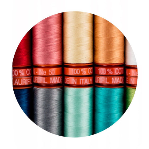 Aurifil Thread - Simplify Collection - 10 Small Spools Cotton 50WT