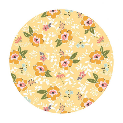 Prairie Main Yellow - Sweet Prairie Collection - Riley Blake Designs