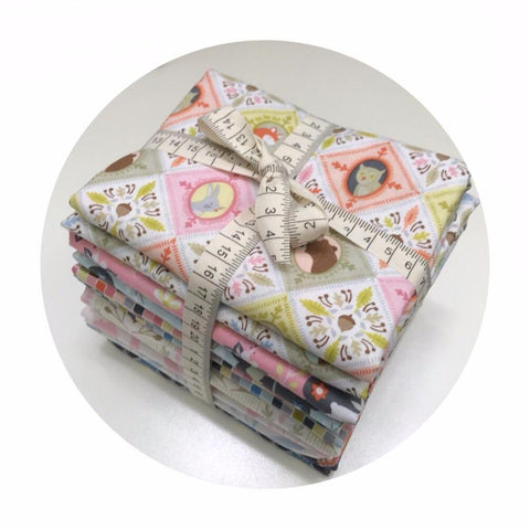 12 Fat Quarter Bundle - Born Wild Collection - Blend Fabrics