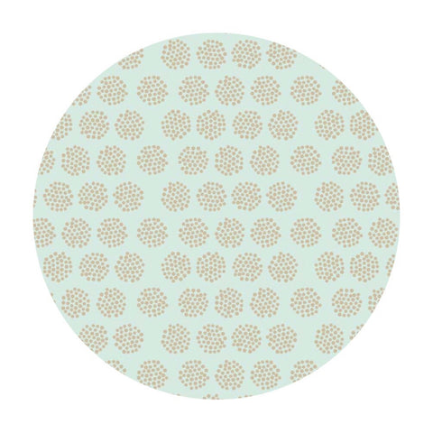 1.5 meters left! - Fireflies Mint - Good Natured Collection - Riley Blake Designs