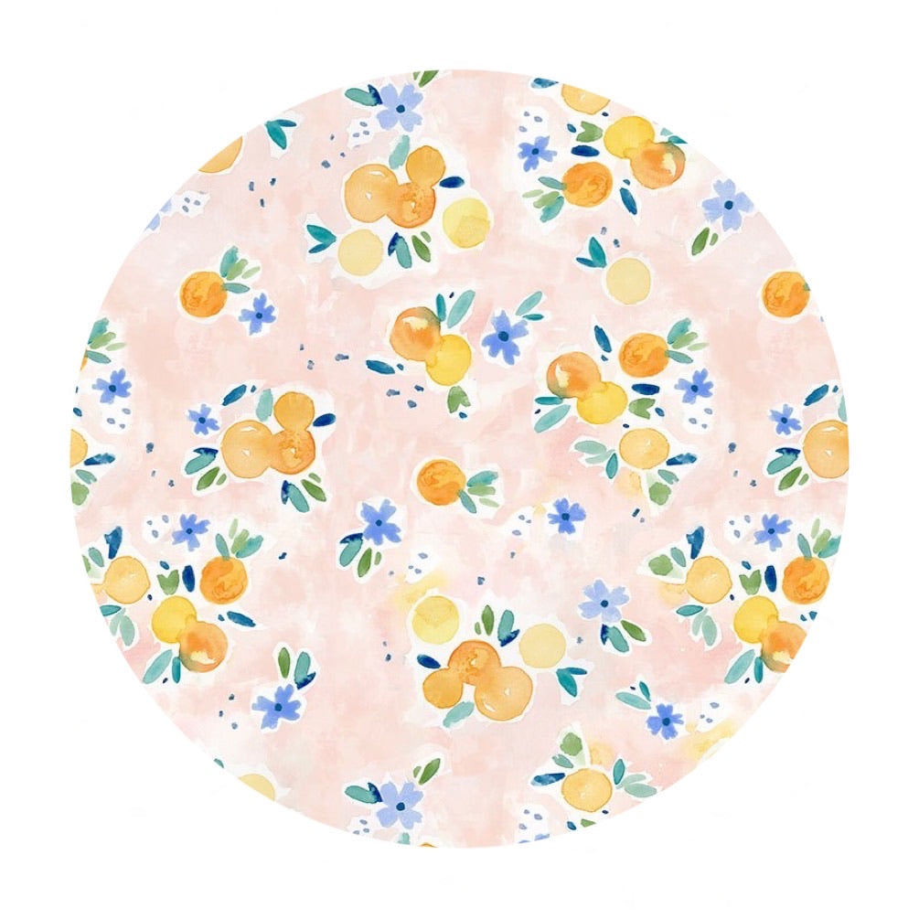 2.5 meters left! - Oranges - Summer Lovin' Collection - Dear Stella Fabrics