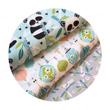 Sky Lantern Blue - Panda-rama Collection - Blend Fabrics