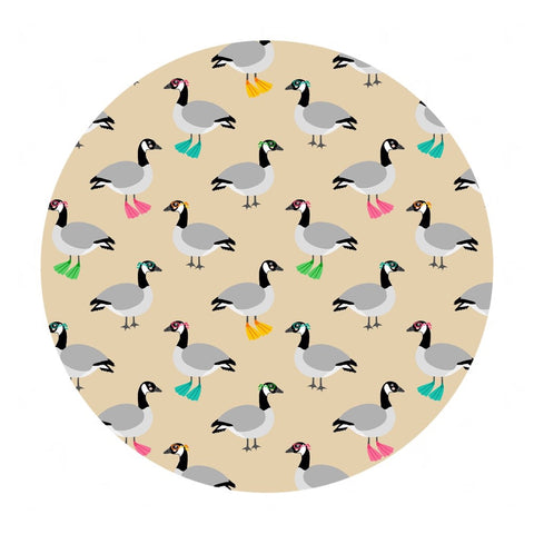 Canadian Geese in Cotton - Purely Canadian Eh! Summer BBQ Collection - Robert Kaufman Fabrics