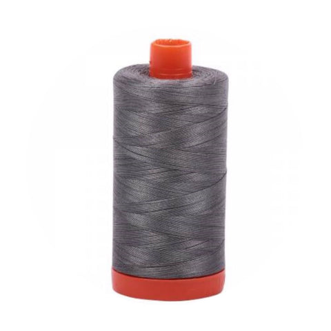 Aurifil Thread - 50wt Large Spool - Gray Smoke 5004
