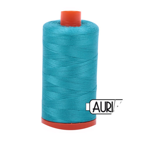 Aurifil Thread - 50wt Large Spool - 2810 Turquoise