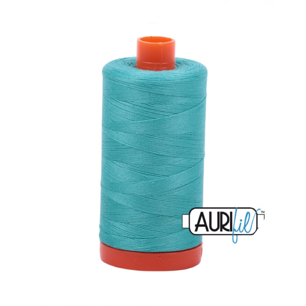 Aurifil Thread - 50wt Large Spool - Light Jade 1148