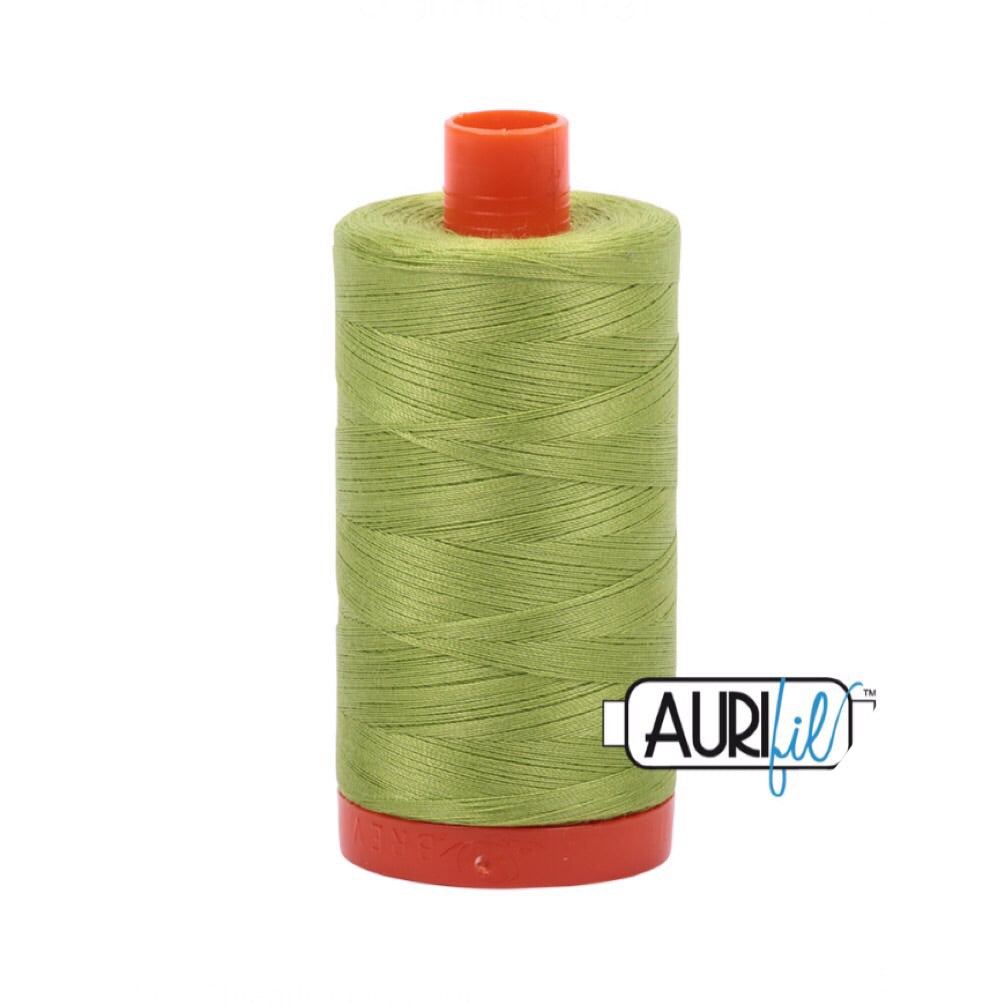 Aurifil Thread - 50wt Large Spool - Spring Green 1231