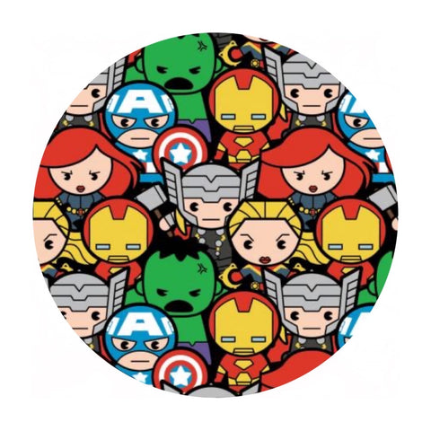 Marvel Kawaii Avengers Assemble -  Marvel Collection - Camelot Fabrics