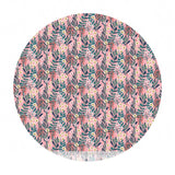1.5 meters left! - Hanna in Pale Pink - Floral Pets Collection - Blend Fabrics