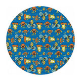 Monsters in Blue - Have Fun, Stay Safe! Collection - Paintbrush Studio Fabrics
