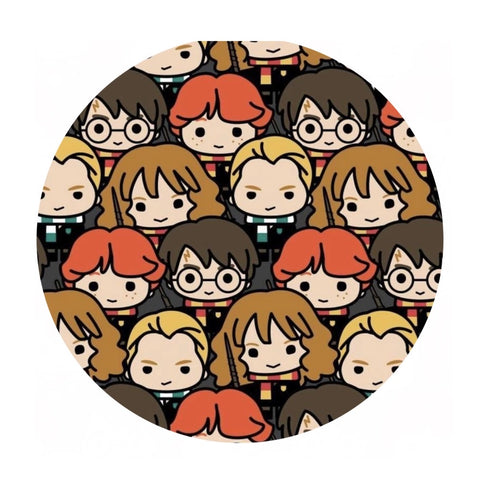 Harry Potter Kawaii Characters - Harry Potter Collection - Camelot Fabrics