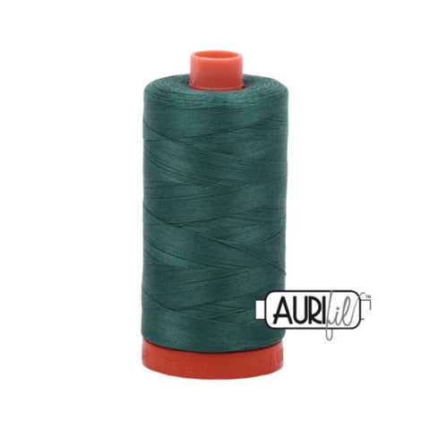 Aurifil Thread - 50wt Large Spool - 4129 Turf Green