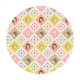 Patchwork Pink - Born Wild Collection - Blend Fabrics
