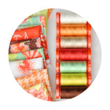 Aurifil Thread - Fig Tree Collection - 10 Small Spools Cotton 50WT
