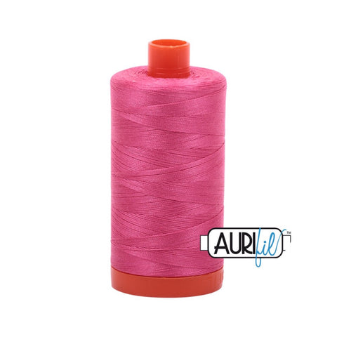 Aurifil Thread - 50wt Large Spool - Blossom Pink 2530