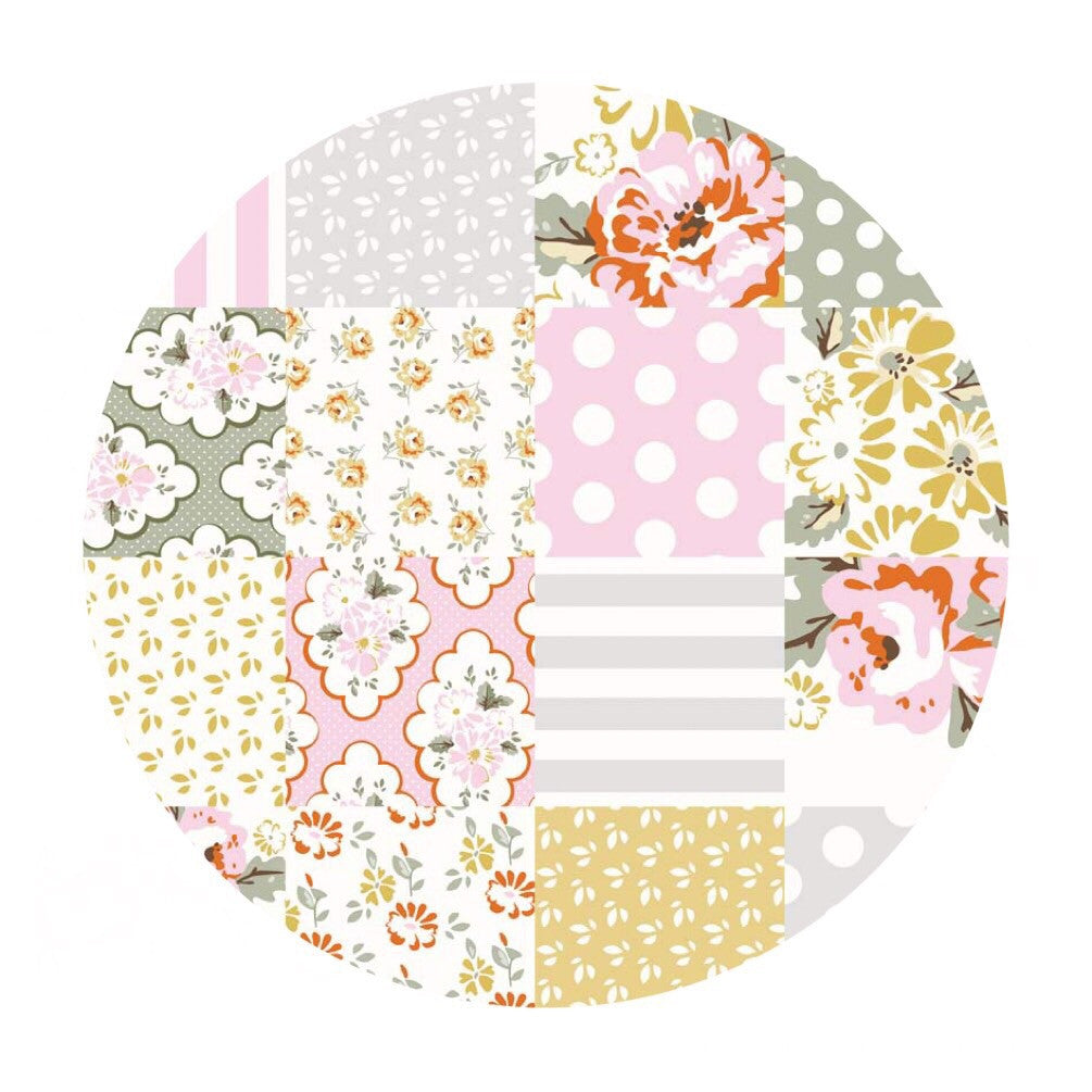 Wiltshire Cheater Gray - Wiltshire Daisy Collection - Riley Blake Designs