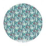 1 meter left! - Hanna in Aqua - Floral Pets Collection - Blend Fabrics