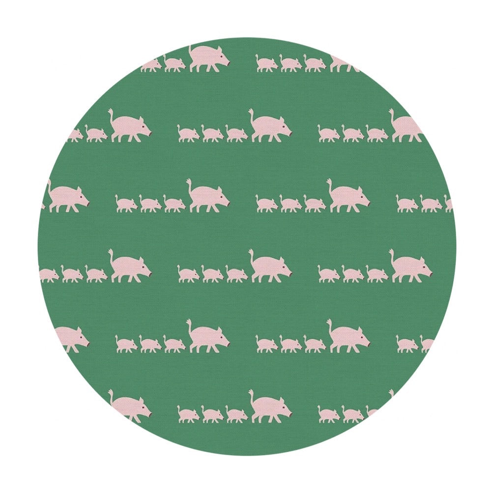 3 meters left! - Pigs - Animal Kingdom - Paintbrush Studio Fabrics