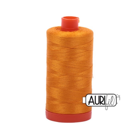 Aurifil Thread - 50wt Large Spool - 2145 Yellow Orange