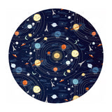 2 meters left! - Supernova in Navy - Supernova Collection - Dear Stella Fabrics