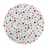 Hexy Dot White in Sparkle Cotton - On Trend Collection - Riley Blake Designs