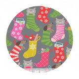 Stocking Stuffers Gray - Even a Mouse Collection - Blend Fabrics