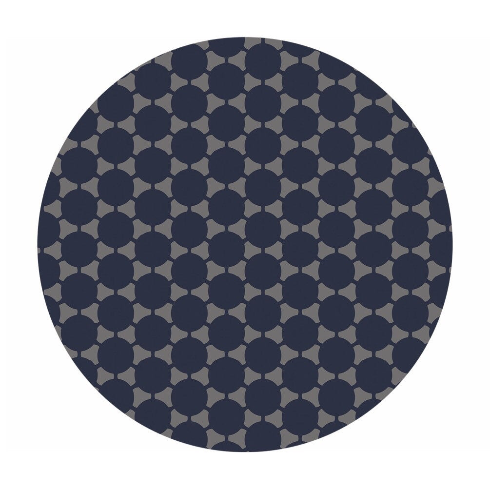 Defect Discount! - Connect the Dot in Navy Double Gauze - Green With Envy Collection - Camelot Fabrics