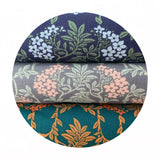 Nouveau Mayflower in Blue - The Hesketh House Collection - Liberty Fabrics