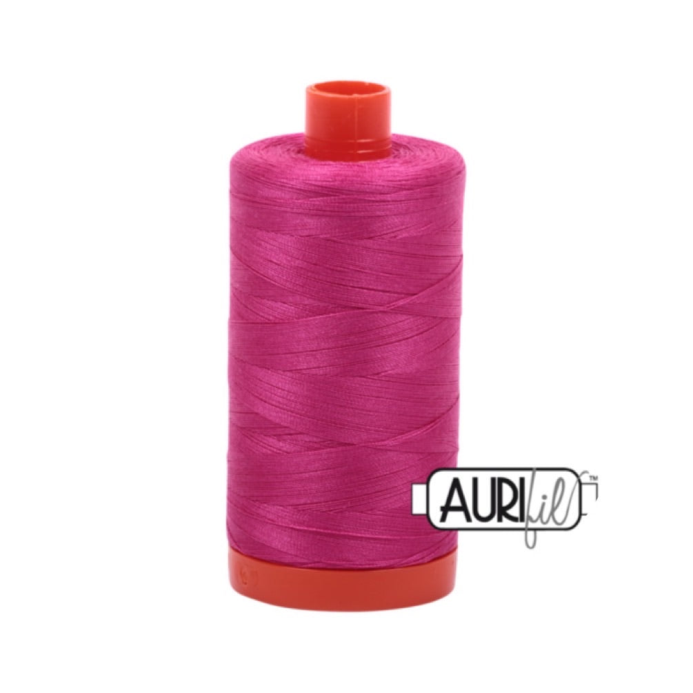 Aurifil Thread - 50wt Large Spool - 4020 Fushia