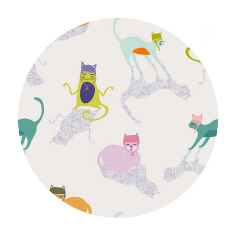 1 meter left! - Kitten Around - Oh Meow Collection - Art Gallery Fabrics