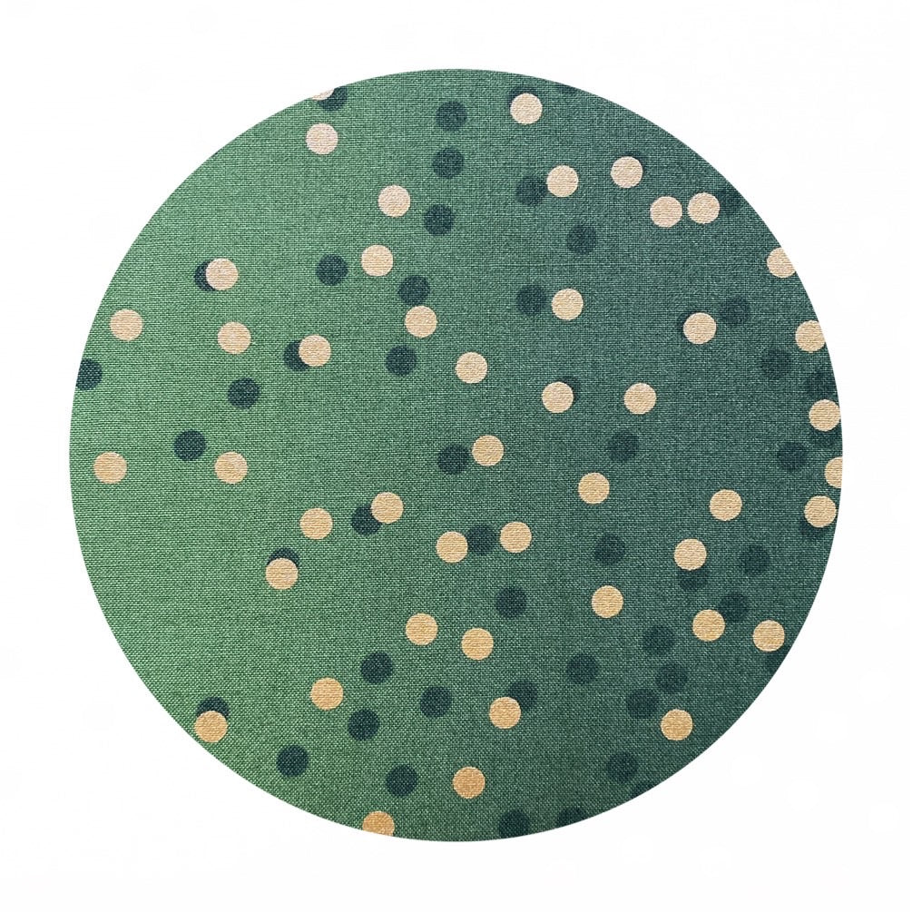 1 meter left!  - Evergreen - Ombre Confetti Metallic Collection - Moda Fabrics