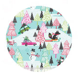 Winter Playground Blue - Cool Yule Collection - Blend Fabrics