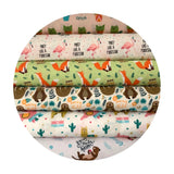 1.5 meters left! - Born to Be Mild - Very Punny Collection - Camelot Fabrics