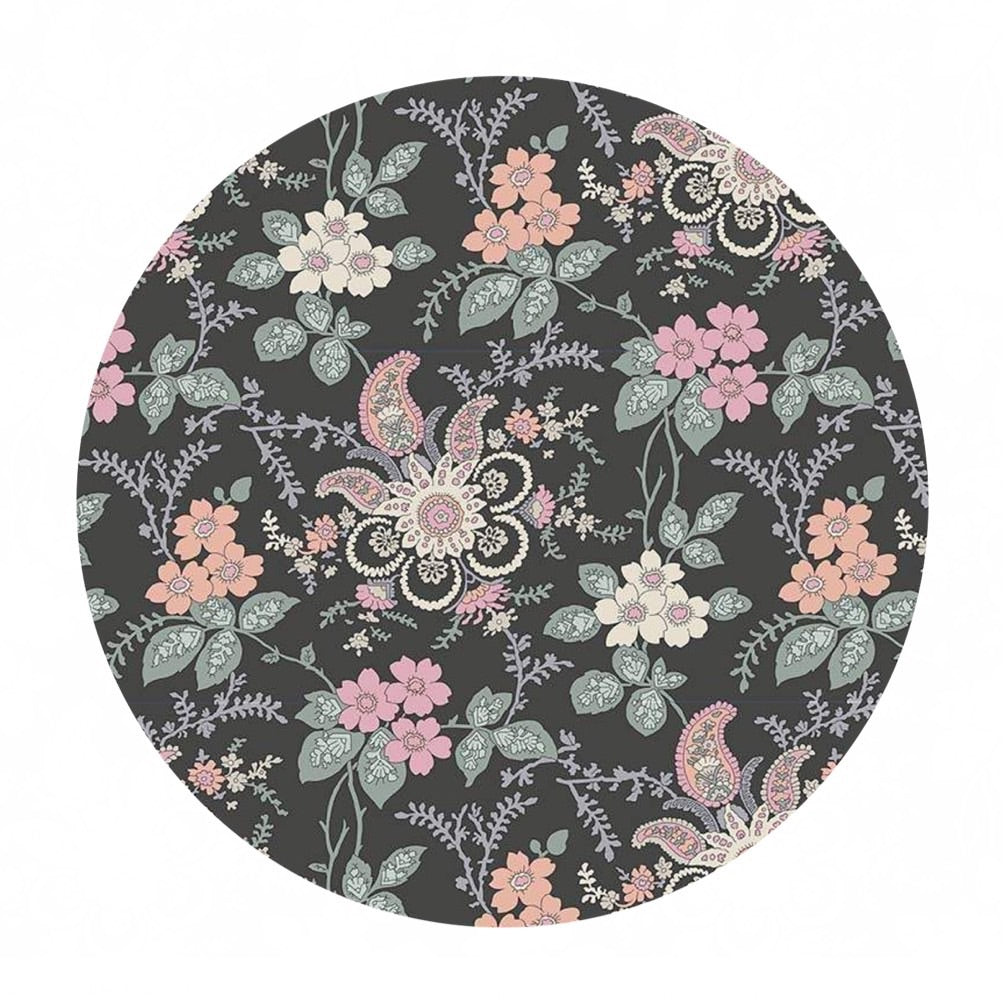 4 meters left! - Fireside in Pink/Green - The Hesketh House Collection - Liberty Fabrics