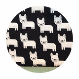 Dogs in Black - Urban Zoologie Collection- Robert Kaufman Fabrics