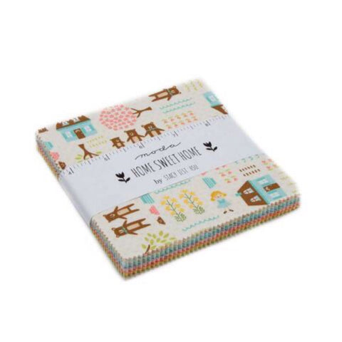 "42 Square 5"" x 5"" Charm Pack - Home Sweet Home Collection - Moda Fabrics"