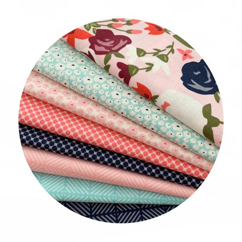 2 Bundles Left! - 8 Piece Half Meter Bundle - Posy Garden Collection - Riley Blake Designs