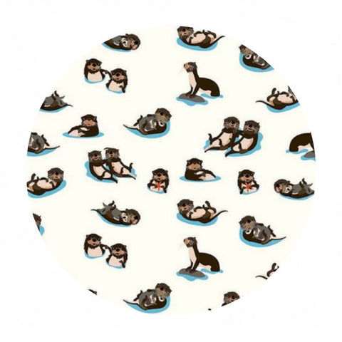 Otters in Cloud - Northwest Collection - Riley Blake Designs