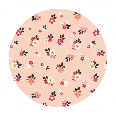 Vintage Floral Pink - Vintage Daydream Collection - Riley Blake Designs