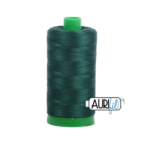 Aurifil Thread - 50wt Large Spool - 2885 Medium Spruce