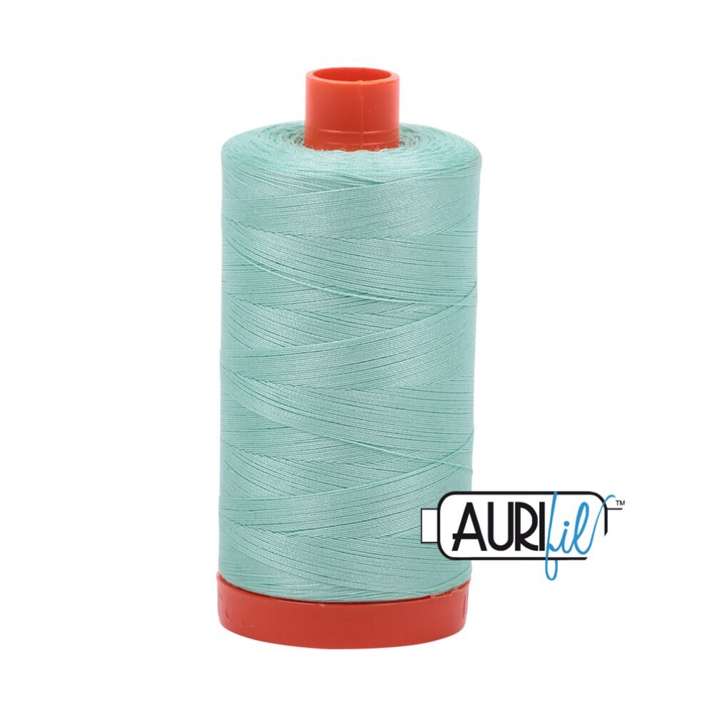 Aurifil Thread - 50wt Large Spool - 2835 Medium Mint