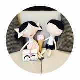 Doll Main Lavender - Olive & Oliver - Doll Fabric Cottons - Riley Blake Designs - Each Panel Makes 2 Dolls!
