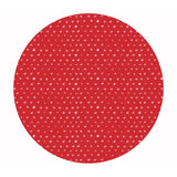 .5 meters left! - Hearts in Tomato - Fa La La Llama Collection - Dear Stella Fabrics