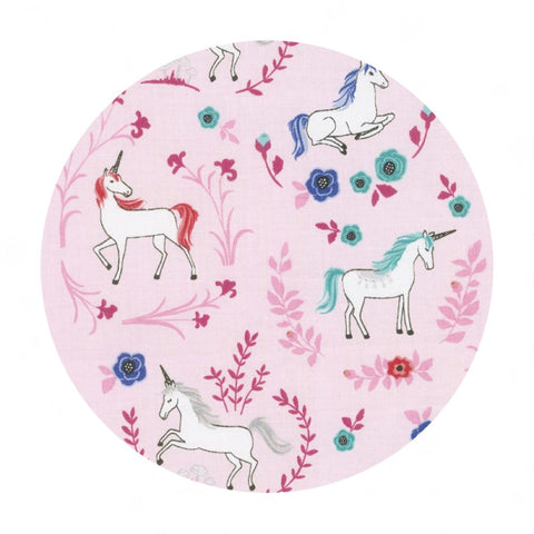 My Unicorn Garden Pink - My Unicorn Collection - Riley Blake Designs