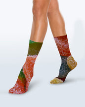 Sugar & Spice Crew Sock