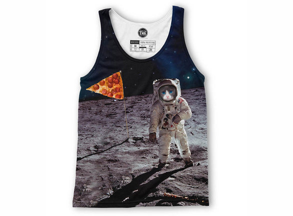 Astronaut Cat Tank Top