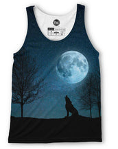 Blue Wolf Howl Tank Top
