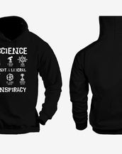 Science Is Not/Linear Viral Hoodie