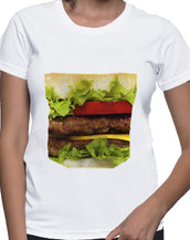 Juicy Burger Big Ass Pocket T-Shirt